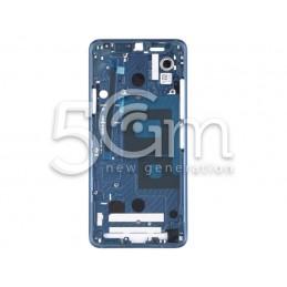 Middle Frame Blue LG G7...