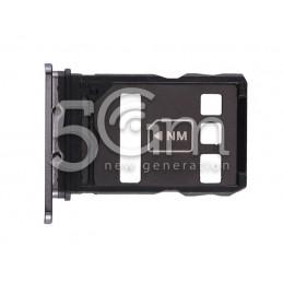 SIM Card Tray Black Huawei P40