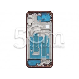 Frame LCD Red Motorola Moto G8+