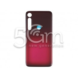 Back Cover Red Motorola Moto G8 Plus