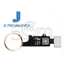 JC 6 Gen Home Button Gold...