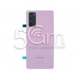 Rear Cover Purple + Camera...