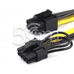 Cable PCIe Adapter 6 Pin to...