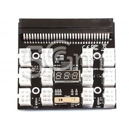 PCI-E 12V 64 Pin to 12 x 6 Pin