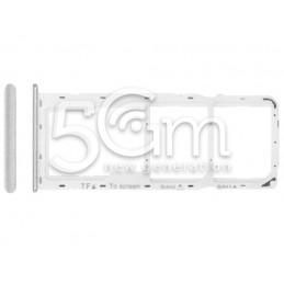 Dual Sim + Micro SD Bianco...