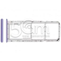 Dual Sim + Micro SD Purple...