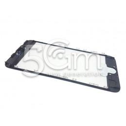 Vetro Nero + Frame Ultra Resistente IPhone 7Plus