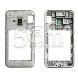 Middle Frame Silver Samsung SM-J120F