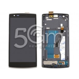 Display Touch Nero + Frame OnePlus One