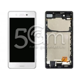 Display Touch Bianco + Frame Xperia X Performance F8131