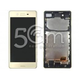 Display Touch Lime + Frame Xperia X Performance F8131