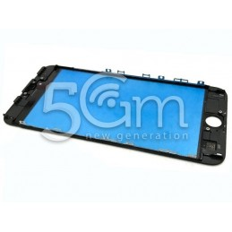Vetro Nero + Frame Ultra Resistente iPhone 6 Plus