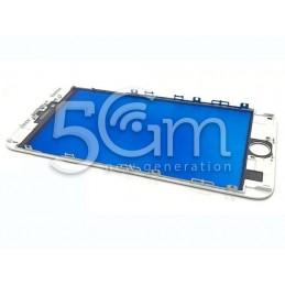 Vetro Bianco + Frame Ultra Resistente iPhone 6 Plus