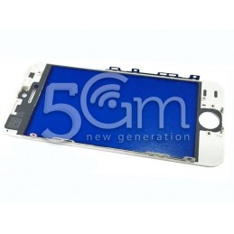 Vetro Bianco + Frame Ultra Resistente IPhone 5S - SE