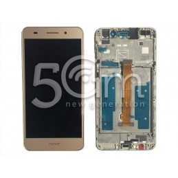 Display Touch Gold + Frame Huawei Y6 II