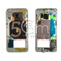Middle Frame Completo Samsung SM-G928 S6 Edge+ Vers. Nero Ori