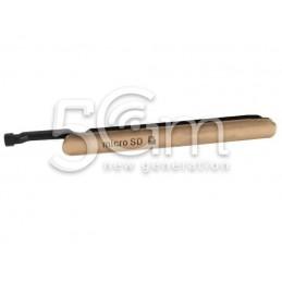 """Sportellino Copertura Rame """"Copper"""" Sim Card Micro SD Xperia Z3+ Dual Sim E6533"""