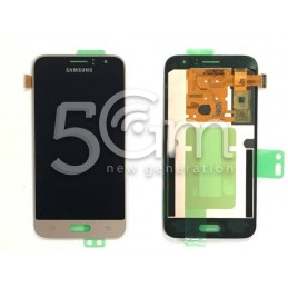 Display Touch Gold Samsung SM-J120FN