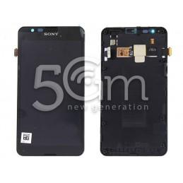 Display Touch Nero + Frame Sony Xperia E4G E2003