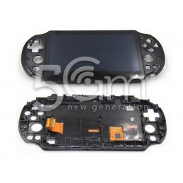 Display Touch Nero + Frame PS Vita 2