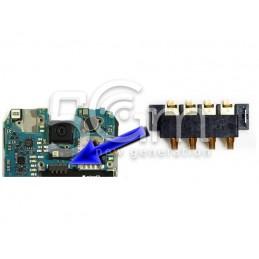 Connettore 4 Pin Su Scheda-Madre Connessione Batteria Samsung SM-G800F