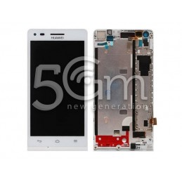 Display Touch Bianco + Frame Huawei Ascend G6 3G