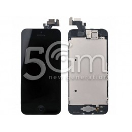 Display Touch Nero  Full Parts iPhone 5 No Logo Flex