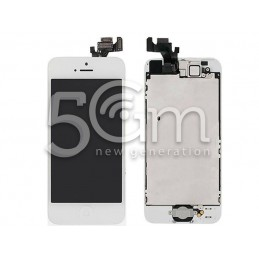 Display Touch Bianco Full Parts iPhone 5 No Logo Flex