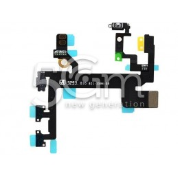 Accensione + Volume Flat Cable iPhone 5s No Logo