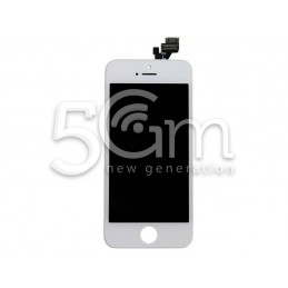 Display Touch Bianco + Frame iPhone 5 No Logo Flex