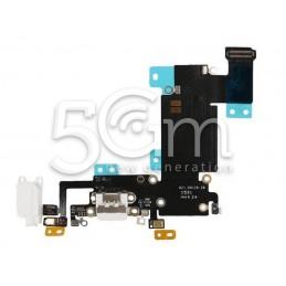 Connettore Di Ricarica Bianco Flat Cable iPhone 6S Plus No Logo