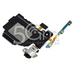 Jack Audio Nero Flat Cable Completo Samsung P600