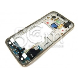 Middle Frame Gold Samsung S5 Mini Completo