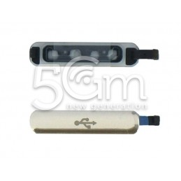 Cover Connettore Gold Samsung G900 S5