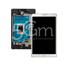 Display Touch Bianco + Frame Samsung SM-T700