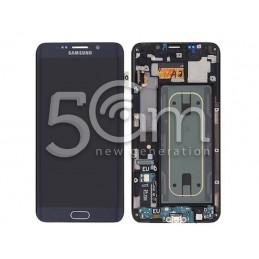 Display Touch Blu Scuro + Frame Samsung SM-G928F S6 Edge +