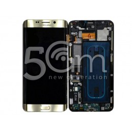 Display Touch Gold + Frame Samsung SM-G928F S6 Edge +