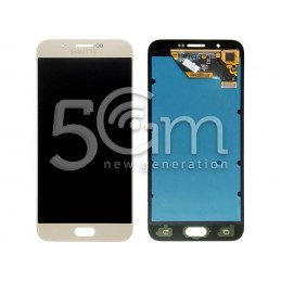 "Display Touch Gold Samsung SM-A8 ""A8000"""