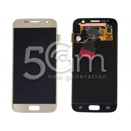 Display Touch Gold Samsung SM-G930 S7