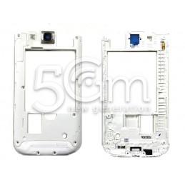 Middle Frame Bianco Samsung I9301i Galaxy S3