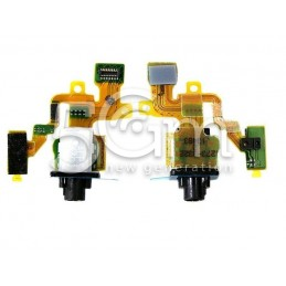 Flat Cable Jack Nero Xperia Z1 Compact