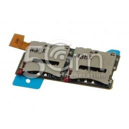 Lettore Dual Sim Card Xperia T2 Ultra