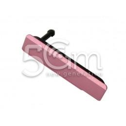 Sportellino Copertura Sim Card Pink Xperia Z1 Compact
