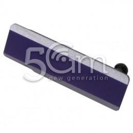Sportellino Copertura USB Purple Xperia Z1