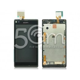 Display Touch Nero + Frame Xperia L S36h