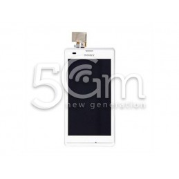 Display Touch Bianco + Frame Xperia L S36h