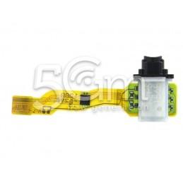 Jack Audio Nero Flat Cable Xperia Z3+ E6553