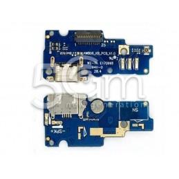 Connettore Di Ricarica + Small Board Asus Zenfone Go ZC500TG