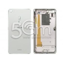 Retro Cover Silver Asus ZenFone 3 Ultra ZU680KL