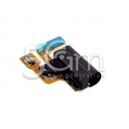 Flat Cable Jack Nero Huawei Ascend P6